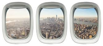 Vwaq Airplane View Window Decal Peel And Stick Aviation Wall Sticker Contemporary Wall Decals By Vwaq Vinyl Wall Art Quotes And Prints