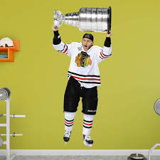 Fathead Nhl Chicago Blackhawks Patrick Kane Stanley Cup Wall Decal Walmart Com Walmart Com
