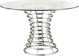 ibiza brushed stainless steel dining