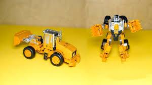 Lắp ráp siêu robot biến hình từ xe xúc cát Trans Truck - Đồ chơi cho bé  trai - YouTube