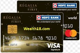 hdfc bank regalia first credit card