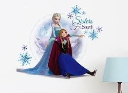 D Frozen Wall Decal Girls Room For Wall Stickers Independence