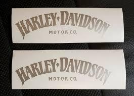 Harley Davidson Motorcycle Helmet Sticker Decal 1 5 Round Nos For Sale Online Ebay