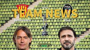 Serie B News: Benevento vs Pisa Confirmed Line-ups