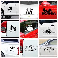 Baby On Board Creative Pattern Quotes Car Stickers Waterproof Cars Styling Exterior Decoration Accessories Diy Funny Vinyl Decal Wall Stickers Aliexpress