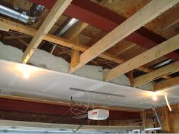 above garage ceiling drywall