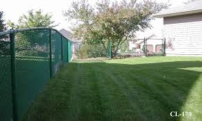 Green Vinyl Coated Chain Link Fences Midwest Fence