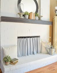 easy diy fireplace cover fireplace