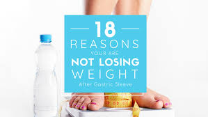 losing weight after gastric sleeve