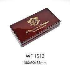 luxury wooden red pen gift bo