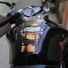 Motorcycle Sexy Anime Girl Reflective Oil Fuel Tank Pad Protector Sticker Decal 8 96 Picclick