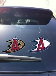 Ml 01 15 Los Angeles Angels Anaheim Ducks Jersey Logo Window Decal Wall Graphic Ebay