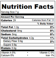 healthy pop tarts nutrition facts