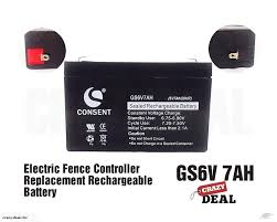 Rechargeable Battery Electric Fence Unit Replacement Solar Charge Battery 6v 7ah Trade Me