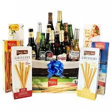 beers grissini beer gift basket