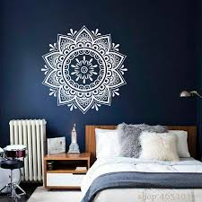Mandala Wall Decal Boho Yoga Wall Stickers For Bedroom Flower Art Mural Bohemian Removable Home Living Room Decor Wall Vinyl Wall Vinyl Decal From Joystickers 12 66 Dhgate Com