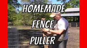 How To Pull Fence Homemade Help Youtube