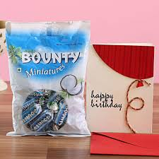 bounty chocolate birthday greetings