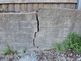 how to fix retaining wall damage