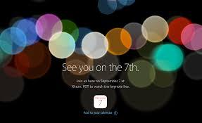 Evento Apple iPhone 7 sarà il 7 Settembre 2016: orario e diretta streaming