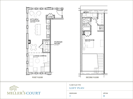 34 loft interior floor plan warm