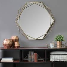 gold mirrors home decor the home