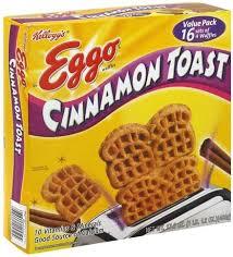 eggo cinnamon toast value pack waffles