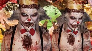 scary ice cream clown burtonesque