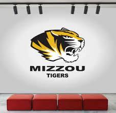 Mizzou Tigers Wall Decal Missouri University Logo Ncaa Color Vinyl Sticker Cg628 Ebay