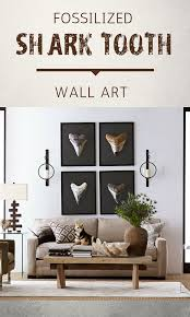 Shark Tooth Wall Art Closeup Photo Of Megalodon Shark Fossilized Tooth Shades Of White And Br Creative Home Decor Minimalist Home Decor Big Boy Room Themes