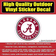 University Of Alabama Crimson Tide Vinyl Car Window Laptop Sticker Dec Colorado Sticker