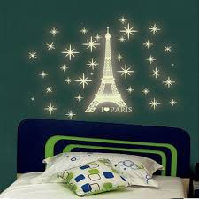 Amazon Com Iuhan Fashion A Set Kids Bedroom Fluorescent Glow In The Dark Stars Wall Stickers Home Improvement