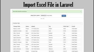 import excel file in laravel webslesson