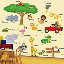 Children Childhood Stickers Animal Removable Wall Decals For Baby Room Stickers Kindergarten Classroom Decoration Whale Removable Sticker Art Wall Decal Art Wall Decals From Valnur 3 95 Dhgate Com