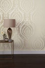 next paste the wall damask wallpaper