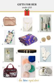 gifts for her under 50 the blue e