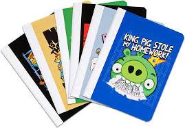 Amazon.com : Angry Birds Comp Book CR : Composition Notebooks ...