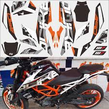 Orange Missing Version Duke 390 Motorcycle Car Sticker 3m Thick Street Car Modified Decal For Ktm Duke 2017 2018 Year Decals Stickers Aliexpress
