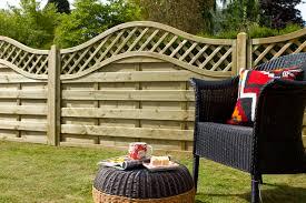 1 8m X 1 2m Pressure Treated Decorative Europa Prague Fence Panel Forest Garden