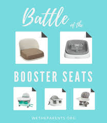 booster seats for the table