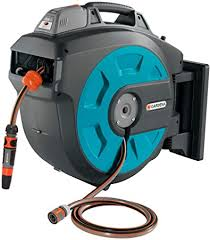 retractable battery operated hose reel