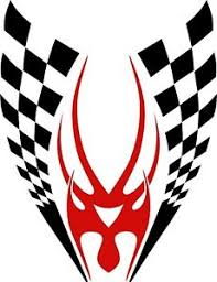 Tribal Decals Racing Flames Vehicle Car Truck Hood Boat Graphics Stickers 36 Ebay