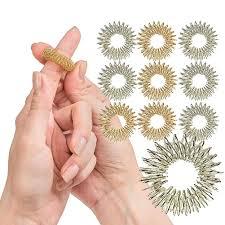 finger acupressure ring fidget toy