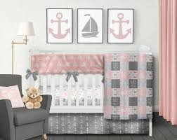 nautical crib set anchor crib bedding