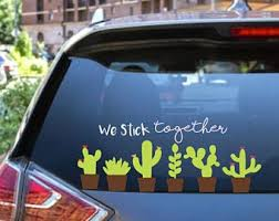 Cactus Family Decals Etsy