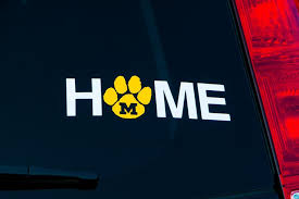 Missouri University Home Car Window Decal Free Shipping Etsy