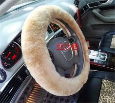 genuine real leather sheepskin car seat