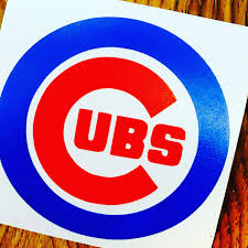 Chicago Cubs Decal Yeti Cup Decal Baseball Decal By Kmfcustomdesigns On Etsy Decals For Yeti Cups Cup Decal Baseball Decals