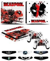 Amazon Com Ps4 Slim Skins Decals For Ps4 Controller Playstation 4 Slim Stickers Cover For Ps4 Slim Controller Sony Playstat Ps4 Slim Dualshock Playstation