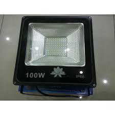 Đèn Led Pha 100W IP66 Ngoài Trời Chống Mưa Tuổi Thọ Cao 220V (Ánh Sáng  Trắng)